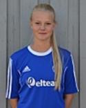 Matchhjälten Johanna Broman.