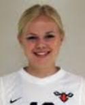 Agnes Hurtig Edlund var en av två tvåmålsskyttar i Heffnersklubban.