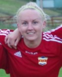 Jonna Wistrand gjorde tre mål och var Matchens Lirare i derbyt på Ånäsvallen.