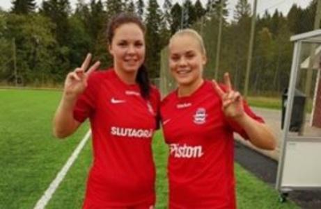 Anfallsduon Anna Edin och Clara Högbom gjorde två mål vardera när Stöde spelade 4-4 mot serietvåan Ope.