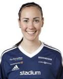 Lagkaptenen Ida Markström nickade in mål nummer 100 för Kovland.