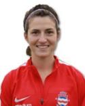 Stödes amerikanska Hannah Massagli slapp spela ytterback och gjorde två mål.