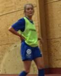 Poängräddaren Sofie Axelborn.