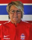 AnneSofi Bränvvall är ansvarig för Stödes damfotboll.