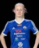 Tremålsskytten Ida Åkerlund.
