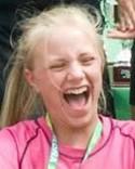 Olivia Wallner fick chansen mellan Selångers stolpar idag men kunde inte hindra en ny förlust.