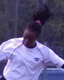 Fränstas 14-åriga talang Carine Rugumaho nätade igen.