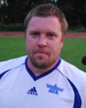 """Kent """"Kekke"""" Larsson slet på bra på Fränstas mittfält när Hassel besegrades."""