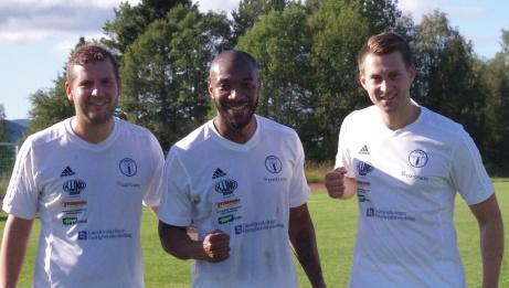 Indals målgörare i seriefinalen IFK Sundsvall, fr v. Niklas Nygren, Sergio Hinestroza och Henrik Pedersen. Foto: Pia Skogman, Lokalfotbollen.nu.