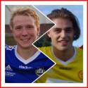Vem får jubla efter lördagens seriefinal? Matfors Filip Andersson-Roos eller Alnös Robin Nymo?