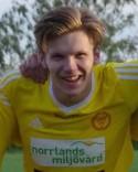 Adam Johansson gjorde hattrick när Alnö gick från 1-0 till 5-0 i början av den andra halvleken.