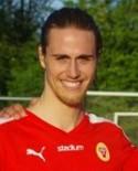 Zakaria Bel Mekki fick nöja sig med ett straffmål i Söderhamn.