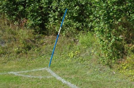 Kan vara en utmaning att slå en högerhörna på Hasselbacken.Foto: Pia Skogman, Lokalfotbollen.nu.