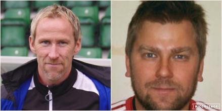 Göran Sundqvist och Stefan Bjertung - Sunds tränarpar som ska försöka föra Sund tillbaka till trean.