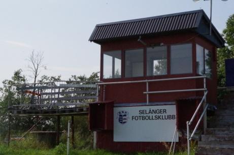 Speakerholken i närbild. Foto: Pia Skogman, Lokalfotbollen.nu.