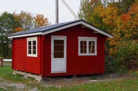 Friggebod vid entrén. Foto: Pia Skogman, Lokalfotbollen.nu.