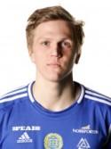 Joakim Nilsson i GIF Sundsvalls tröja.