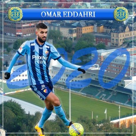 Inte Luis Figo men väl Omar Eddahri som är Giffarnas Mr X. Foto: GIF Sundsvall.