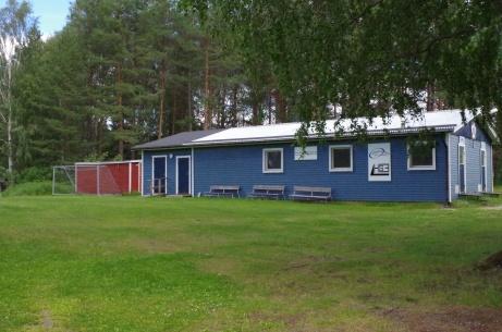 ...och omklädningsrummen. Foto: Pia Skogman, Lokalfotbollen.nu.
