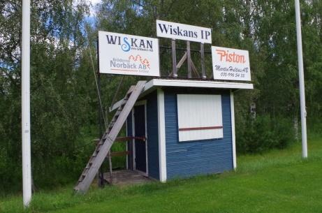 Samma objekt som ovan, fast från andra sidan. Foto: Pia Skogman, Lokalfotbollen.nu.