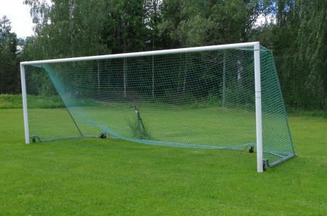Målet för en forward! Foto: Pia Skogman, Lokalfotbollen.nu.