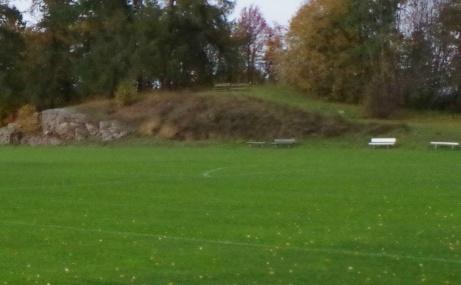"""""""Läktarberget"""", Foto: Pia Skogman, Lokalfotbollen.nu."""