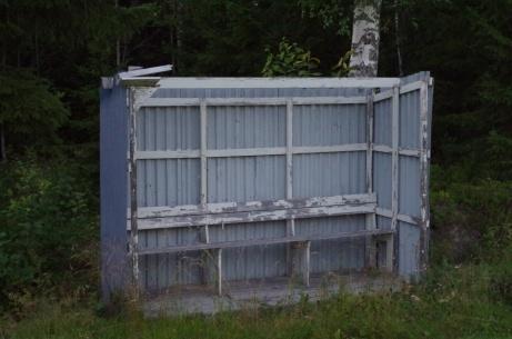 ...och det här lite tak också. Foto: Pia Skogman, Lokalfotbollen.nu.