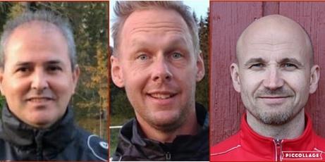 Söråkers  ledartrojka Alejandro Ahumada, Sven Lagerqvist och Stefan Öberg följer med upp till division 2.
