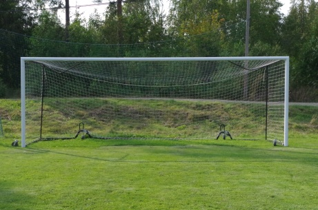 Måååååål...bur! Foto: Pia Skogman, Lokalfotbollen.nu.