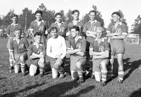 Fagerviks GF:s klassiska division 3-lag som mötte allsvenska Helsingborgs IF i Svenska Cupens semifinal 1950. Då hade FGF tidigare slagit ut både Degerfors och Djurgården. Det betydde fotbollsfeber och matchen fick flyttas till Idrottsparken i Sundsvall för att alla skulle få plats och se matchen. Närmare 10 000 åskådare fick se ett tappert Fagervik förlora mot de rödblå skåningarna med 1-3.