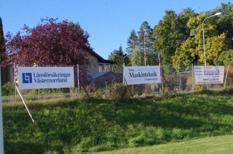 Svartvik har gott om sponsorer... Foto: Pia Skogman, Lokalfotbollen.nu.
