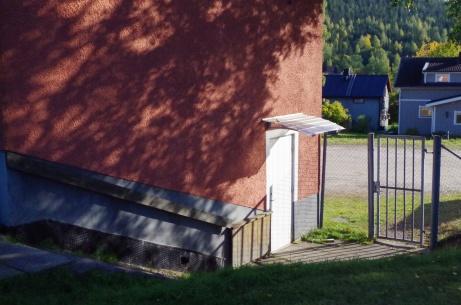 ...och bortalagets omklädning. Foto: Pia Skogman, Lokalfotbollen.nu.