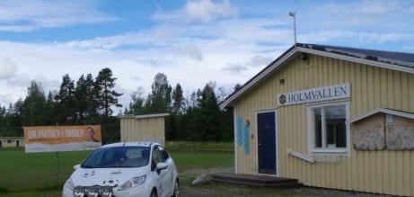 Lokalfotbollen och Fårrden gör ett nedslag på Holmvallen. Foto: Pia Skogman, Lokalfotbollen.nu.
