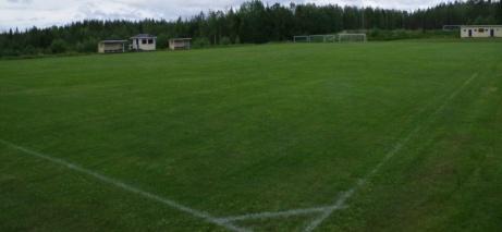 Vidvinkeln funkar ganska bra. Här vy från den östra hörnflaggan. Foto: Pia Skogman, Lokalfotbollen.nu.