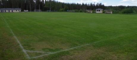...och från motstående hörnflagga ett hundra meter bort. Foto: Pia Skogman, Lokalfotbollen.nu.