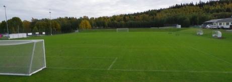 Utblick från ett matchur. Foto: Pia Skogman, Lokalfotbollen.nu.