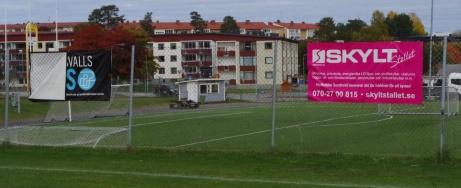 Några sponsorer till. Foto: Pia Skogman, Lokalfotbollen.nu.