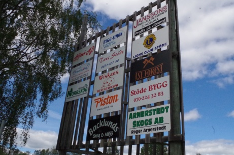 ...och ännu fler sponsorer! Saknas något lokalt företag? Foto: Pia Skogman, Lokalfotbollen.nu.