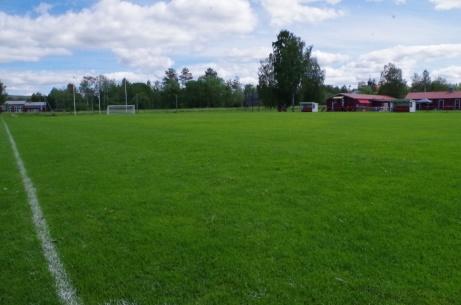 Planen i sydost. Foto: Pia Skogman, Lokalfotbollen.nu.