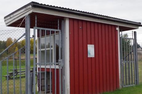 Biljettkuren med två insläpp. Foto: Pia Skogman, Lokalfotbollen.nu.