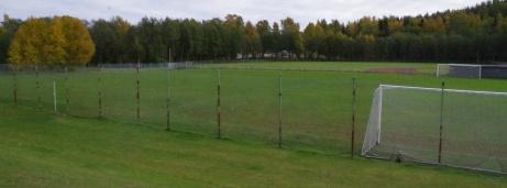 Och vy från ovanstående vall. Foto: Pia Skogman, Lokalfotbollen.nu.