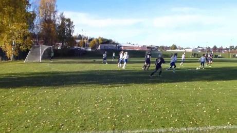 Dammatch mellan SDFF Plus och IFK Timrå på Kubenfältet 2013.