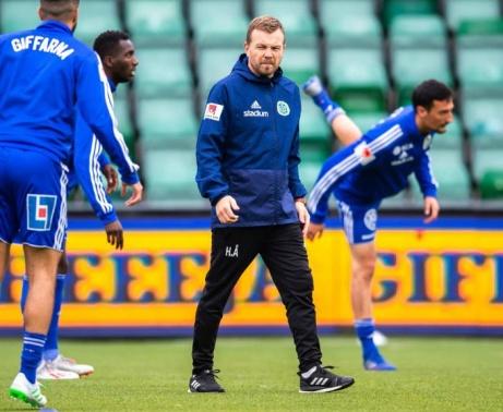 Efter två säsonger som assisterande tränare i GIF Sundsvall tar nu 40-årige Henrik Åhnstrand över huvudansvaret. Foto: Pär Olert, Bildbyrån.