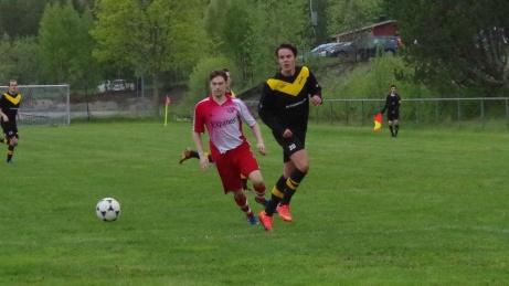 Stockvik är från och med 2019 tillbaka i seriespel. Här i en segermatch mot Ljunga IF under hösten. Foto: Pia Skogman, Lokalfotbollen.nu.