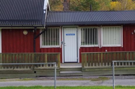 Träningslokal. Foto: Pia Skogman, Lokalfotbollen.nu.