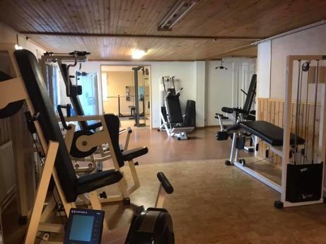 Och så här ser det ut i träningslokal. Foto: Ljustorps IF.