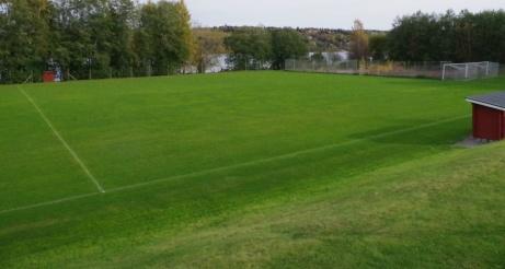 Bra blick för spelet från speakerbåset. Foto: Pia Skogman, Lokalfotbollen.nu.