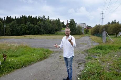 Så här såg det ut innan konstgräset lades på B-planen som då var en grusplan som användes av Korstaskolan innan den lades ner och även av Sundsvallskorpen. Foto: Fredrik Söderberg, ST.