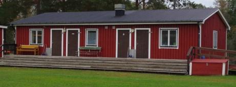 Samma byggnad än en gång.Foto: Pia Skogman, Lokalfotbollen.nu.