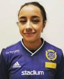 Delinda Sehlin är en av flera unga som flyttats upp i SDFF:s A-trupp från F19-laget.